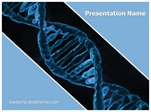 Free DNA Helix PowerPoint Template Background, FreeTemplatesTheme