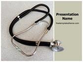 Free Doctor Stethoscope PowerPoint Template Background, FreeTemplatesTheme