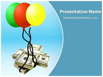 Free Dollar Money Laundering Powerpoint Template