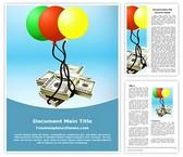 Free Dollar Money Laundering Word Template Background, FreeTemplatesTheme