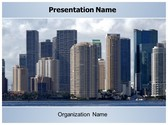 Free Downtown PowerPoint Template Background, FreeTemplatesTheme