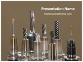 Free Drill Bits PowerPoint Template Background, FreeTemplatesTheme