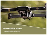 Free Drone Camera PowerPoint Template Background, FreeTemplatesTheme