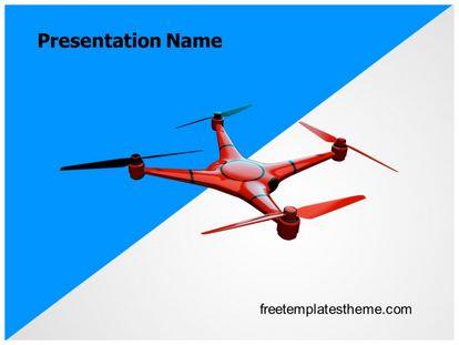 Free drone powerpoint template freetemplatestheme slide1g toneelgroepblik Images