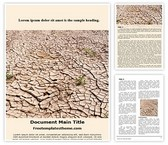 Free Drought Word Template Background, FreeTemplatesTheme