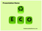 Free Eco Business PowerPoint Template Background, FreeTemplatesTheme