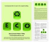 Free Eco Business Word Template Background, FreeTemplatesTheme