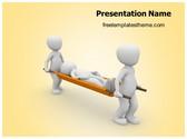 Free Emergency Medical Responders PowerPoint Template Background, FreeTemplatesTheme