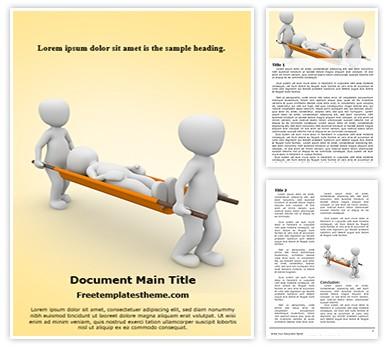 Emergency Medical Responders Free Word Doc Template, freetemplatestheme.com