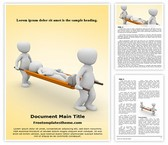 Free Emergency Medical Responders Word Template Background, FreeTemplatesTheme