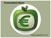Free Euro Fruit PowerPoint Template Background, FreeTemplatesTheme