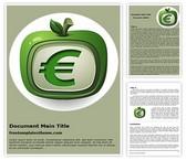 Free Euro Fruit Word Template Background, FreeTemplatesTheme