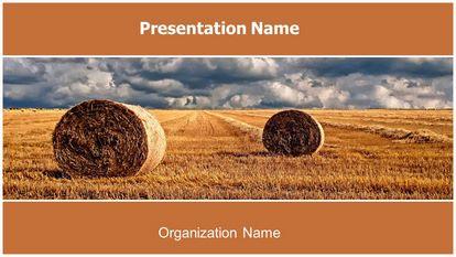 Farm Field Free PPT Background Template Widescreen FreeTemplatesTheme
