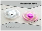 Free Fidget Spinning PowerPoint Template Background, FreeTemplatesTheme
