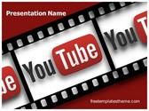 Free Film Reel Youtube PowerPoint Template Background, FreeTemplatesTheme