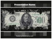 Free Financial Crisis PowerPoint Template Background, FreeTemplatesTheme