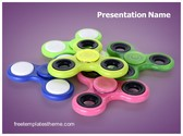 Free Finger Spinners PowerPoint Template Background, FreeTemplatesTheme