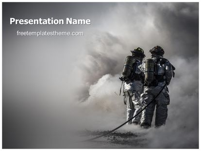 Free fire fighters powerpoint template freetemplatestheme slide1g toneelgroepblik