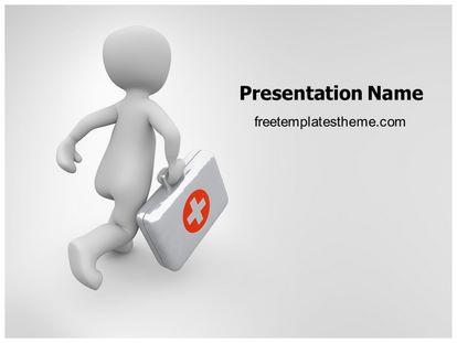 Free first aid doctor powerpoint template freetemplatestheme slide1g toneelgroepblik Gallery