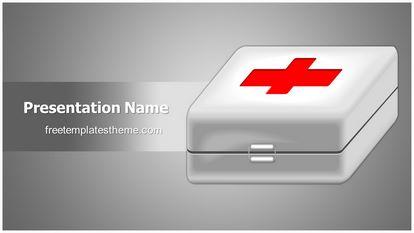 First Aid Free Powerpoint Template Theme Widescreen, FreeTemplatesTheme