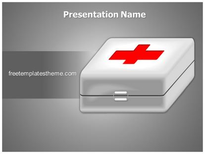 free first aid powerpoint template | freetemplatestheme, Powerpoint templates