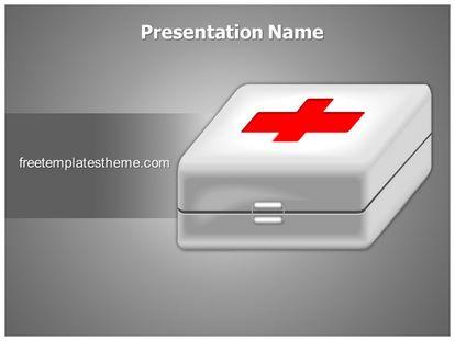 First Aid Free Powerpoint Template Theme, freetemplatestheme.com