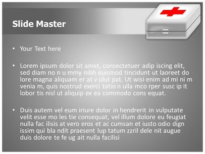 First Aid Free Powerpoint Template Theme, PPT Slide2
