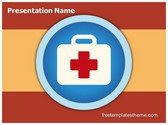 Free First Aid Icon PowerPoint Template Background, FreeTemplatesTheme
