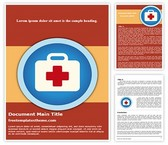 Free First Aid Icon Word Template Background, FreeTemplatesTheme