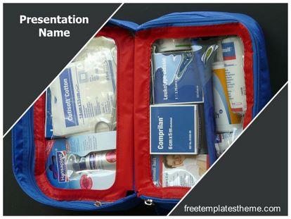 Free First Aid Kit Powerpoint Template Freetemplatestheme