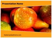 Free Fress Fruit PowerPoint Template Background, FreeTemplatesTheme