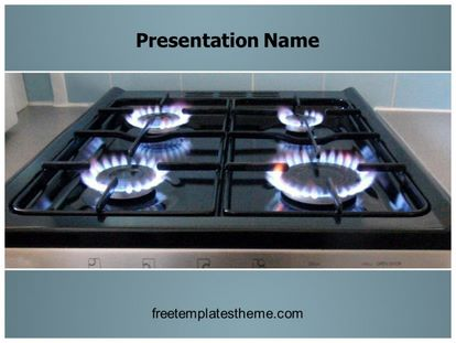 Free gas cooker powerpoint template freetemplatestheme slide1g toneelgroepblik Image collections