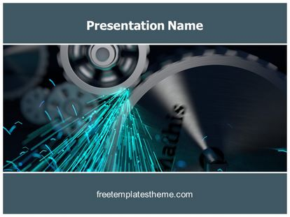 Free gears friction powerpoint template freetemplatestheme slide1g toneelgroepblik Choice Image