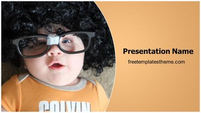 Free geek child powerpoint template freetemplatestheme slide1g toneelgroepblik Choice Image