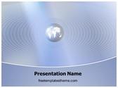 Free Global Communication PowerPoint Template Background, FreeTemplatesTheme