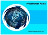 Free Global Photo Albums PowerPoint Template Background, FreeTemplatesTheme