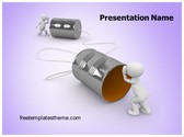 Free Graham Bell Invention PowerPoint Template Background, FreeTemplatesTheme
