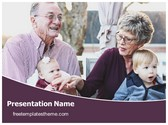 Free Grandparents Day PowerPoint Template Background, FreeTemplatesTheme