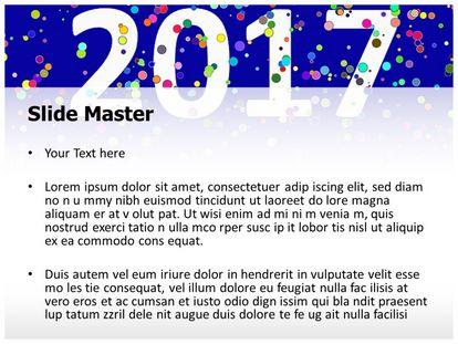 Free Happy New Year 2017 Powerpoint Template Freetemplatestheme Com
