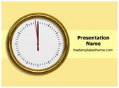 Free Happy New Year Eve PowerPoint Template Background, FreeTemplatesTheme