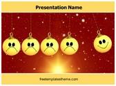 Free Happy Smiley PowerPoint Template Background, FreeTemplatesTheme