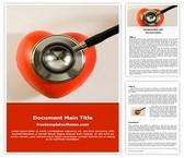 Free Healthcare Word Template Background, FreeTemplatesTheme