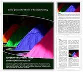 Free Holi Colors Word Template Background, FreeTemplatesTheme