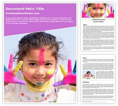 Holi Fun Free Word Background, freetemplatestheme.com