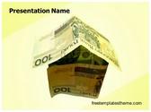 Free Home Finance PowerPoint Template Background, FreeTemplatesTheme