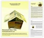 Free Home Finance Word Template Background, FreeTemplatesTheme