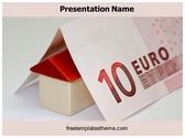Free Home Loan PowerPoint Template Background, FreeTemplatesTheme