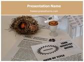 Free Home Loan Savings PowerPoint Template Background, FreeTemplatesTheme