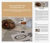 Free Home Loan Savings Word Template Background, FreeTemplatesTheme