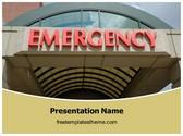 Free Hospital Emergency PowerPoint Template Background, FreeTemplatesTheme